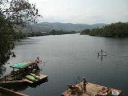 View of Kampot River