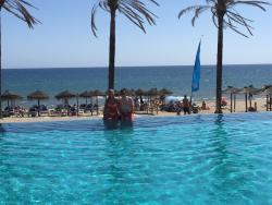 Perfect beach club day!!