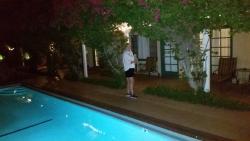 Pool on the doorstep