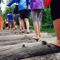 Percorso di Barefooting