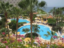 View of pool area from our balcony