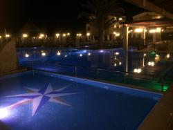 Nice pool area shame about rooms