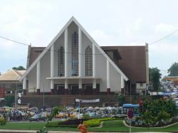cathedrale de la paix, North 10, Yaundé, Camerún