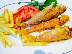 Our selected dish of Red Mullet