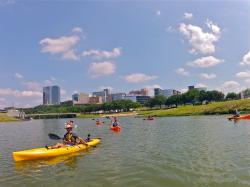 Backwoods Paddlesports at Panther Island Pavilion