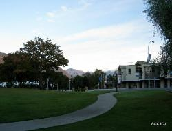 View from Wanaka Hotel