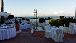 The wedding party At Punta Molino Beach Resort & SPA