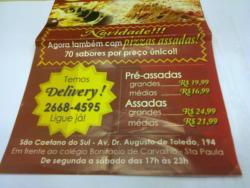Rede Pizza Pre-Assada