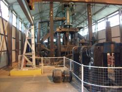 The museum contains some very large machinery