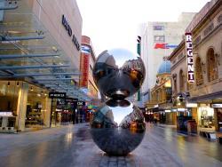 The Mall's Balls Statue