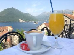 Вид со столика за завтраком