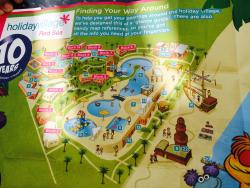 Holiday village Red Sea hotel map