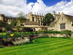 牛津大学基督教堂学草坪