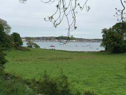 View across Strangford Lough to Portaferry