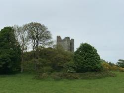Another view of Audley's Castle