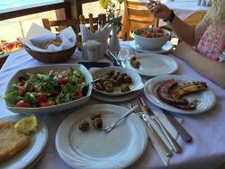 Обед в el greko