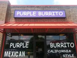Purple Burrito