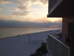 """From 4th Floor """"D"""" balcony looking at Pier."""