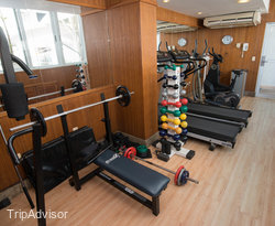 Fitness Center at the Holiday Inn Express Natal