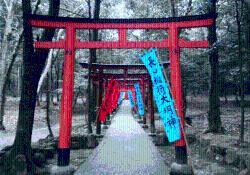 橿原神宮末社長山稲荷社