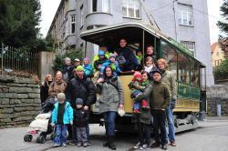 Bergen's Electric Tramway - Museum Tram