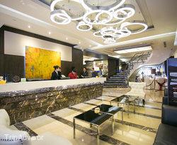 Lobby at the Ramada Manila Central