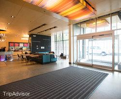 Entrance at the Aloft Lexington
