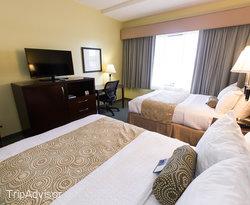 The Standard Double Queen Room at Best Western Plus Coastline Inn