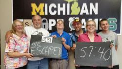 A Group of winners (Escapees) from 'the Heist'