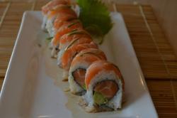 salmon lover roll