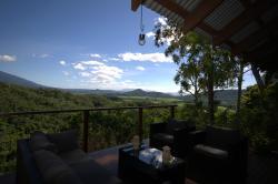 Great view, breakfast area