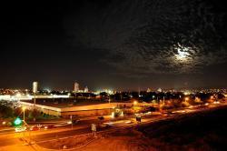 Hermosa Vista desde el Hotel Sleep Inn, Culiacán