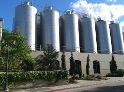 Outside brewery