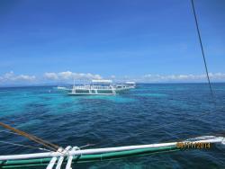 Одна из лодок отеля