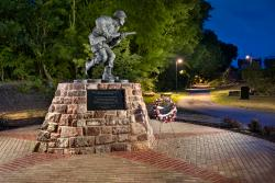Winters Leadership Memorial at Veterans' Plaza