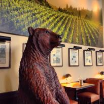 Huge Bear at The Bank Tasting Room