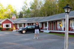 Highbrook Motel - Where you can pull your car up and go right in!