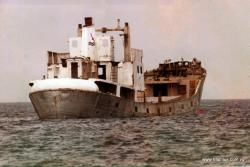 Semle being sunk in 1987