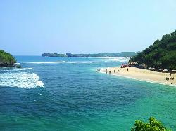 Ngandong Beach
