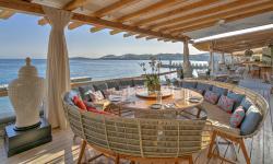 Buddha Bar Beach Santa Marina Table Setup