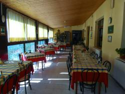 View of the main dining area.