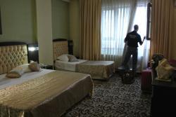 Inside a triple room