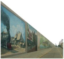 Portsmouth Floodwall Mural