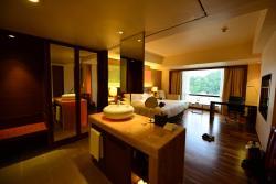 清潔で広い客室