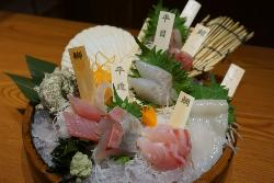 Fresh Fish Produce Sandaime Amimoto Tottori Kitaguchi