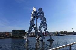 Molecule Men Sculpture