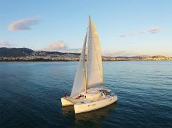 Sailing Athens - Luxury Catamaran Day Cruises