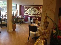 Lovely decor inside Thai Nadon ,Durham