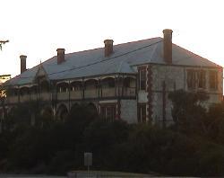 Hotel at sunrise