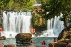 Giang Dien Waterfall Tourist Site
